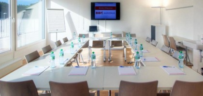 Book a meeting congress location BBC Arena - Schaffhausen Schweiz